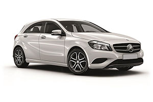 Mercedes-Benz A-Class with GPS
