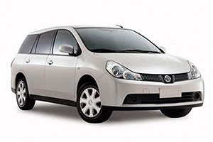 Nissan Wingroad Estate GPS
