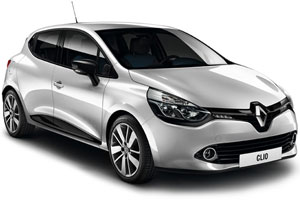 Renault Clio with GPS
