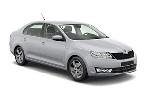 Skoda Rapid with GPS