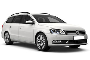 VW Passat SW with GPS